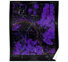 USGS TOPO Map Alabama AL Farley 303816 1947 24000 Inverted Poster