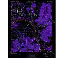 USGS TOPO Map Alabama AL Farley 303816 1947 24000 Inverted Photographic Print