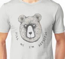 Artistic Bear Tee Unisex T-Shirt