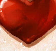 Linzer Heart Cookie Sticker