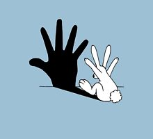 Rabbit Rock and Roll Hand Shadow Unisex T-Shirt