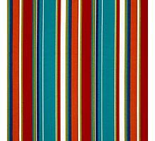 Fabric Art, Pattern, Bold and Beautiful Stripes Photographic Print