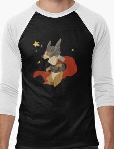 Thorgi, The Corgi God Of Thunder Men's Baseball ¾ T-Shirt