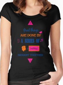 Let us game! Women's Fitted Scoop T-Shirt