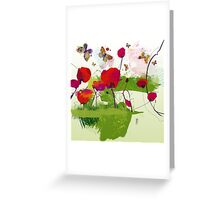 Spring's coming Greeting Card