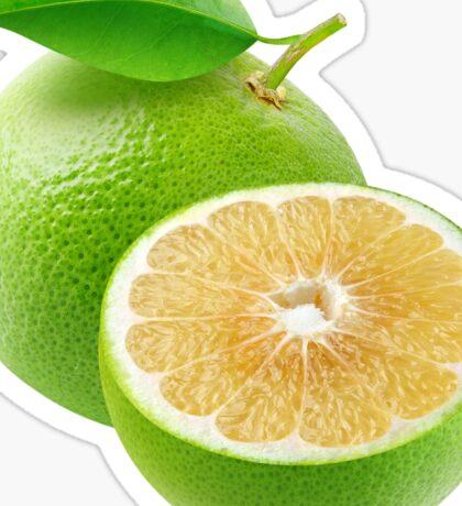 White grapefruit Sticker