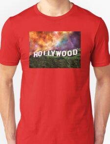 Hollywood - Home of the Stars by Sharon Cummings Unisex T-Shirt