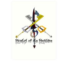 Knights of the Keyblade Art Print