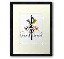 Knights of the Keyblade Framed Print