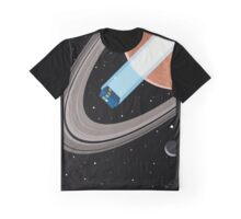 Tardis in space Graphic T-Shirt