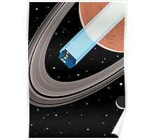 Tardis in space Poster