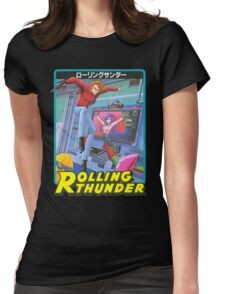 Rolling Thunder Womens Fitted T-Shirt