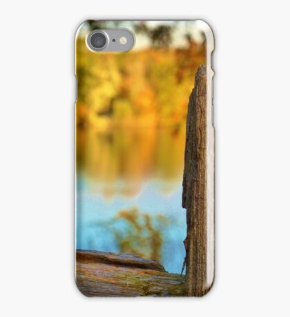 Fall Fence Post iPhone Case/Skin