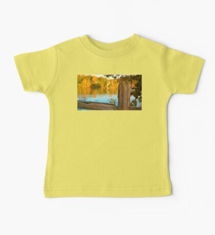 Fall Fence Post Baby Tee