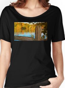 Fall Fence Post Women's Relaxed Fit T-Shirt