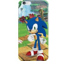 BEST - Sonic & Amy In Green Hill - CHEAP iPhone Case/Skin