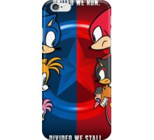 Sonic The Hedgehog - United or Divided iPhone Case/Skin