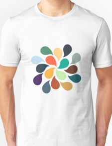 Colorful Water Drops T-Shirt