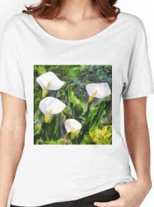 CM12208 - Glass of milk Women's Relaxed Fit T-Shirt