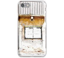 L'Aquila: shops and balcony iPhone Case/Skin