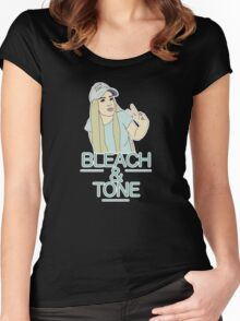 Bleach & Tone (version two) Women's Fitted Scoop T-Shirt