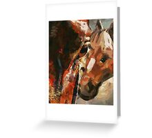 CM12210 - Horses mothers, Madonna Greeting Card