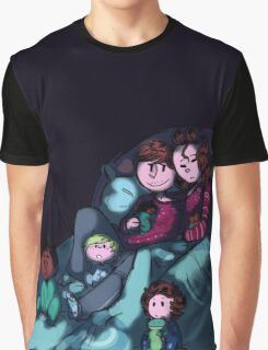 Sleepy Larents - For Barb Graphic T-Shirt