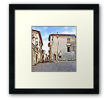 L'Aquila: collapsed buildings Framed Print