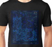 USGS TOPO Map Alabama AL Trinity 305243 1950 24000 Inverted Unisex T-Shirt