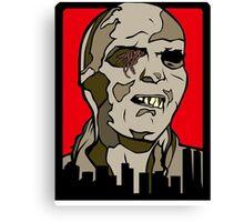 Classic Fulci Zombie - Lucio Fulci Canvas Print