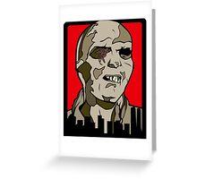 Classic Fulci Zombie - Lucio Fulci Greeting Card