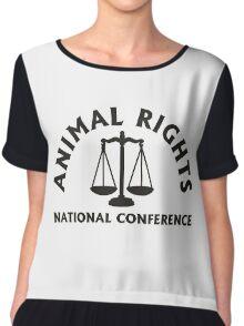 animal rights Chiffon Top