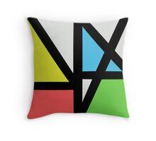 New order logo Throw Pillow