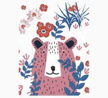Bear Garden One Piece - Short Sleeve