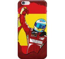 Fernando Alonso/Ferrari Tribute iPhone Case/Skin