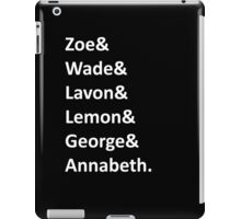 Hart of Dixie Names iPad Case/Skin