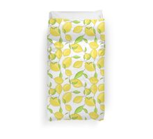 Lemon citrus pattern Duvet Cover