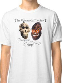 Skull Orangutan vs Palm Oil Classic T-Shirt