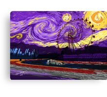 A Starry Night in Singapore Canvas Print