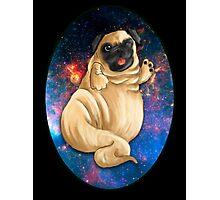 Jabba the Pug Photographic Print
