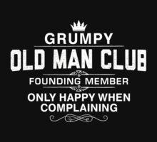 Grumpy Old man Club Kids Tee