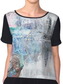The Atlas Of Dreams - Color Plate 15 alternate Chiffon Top