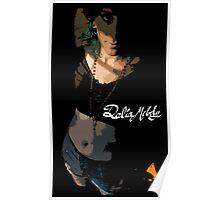 Delia Melody Pinup #1 Poster