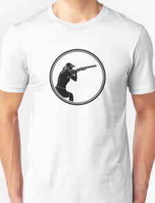 Womens Skeet Shooting Unisex T-Shirt