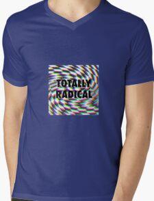 Totally Rad Mens V-Neck T-Shirt