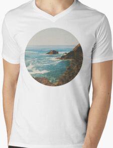Oregon Coast Mens V-Neck T-Shirt