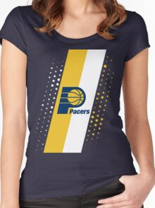 Indiana Pacers Women's Fitted Scoop T-Shirt