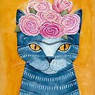 Frida Catlo in Blue by Ryan Conners