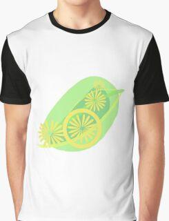Lemon Zest Subtle Splash Graphic T-Shirt