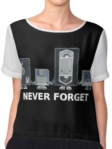 Never forget the fallen ones Chiffon Top